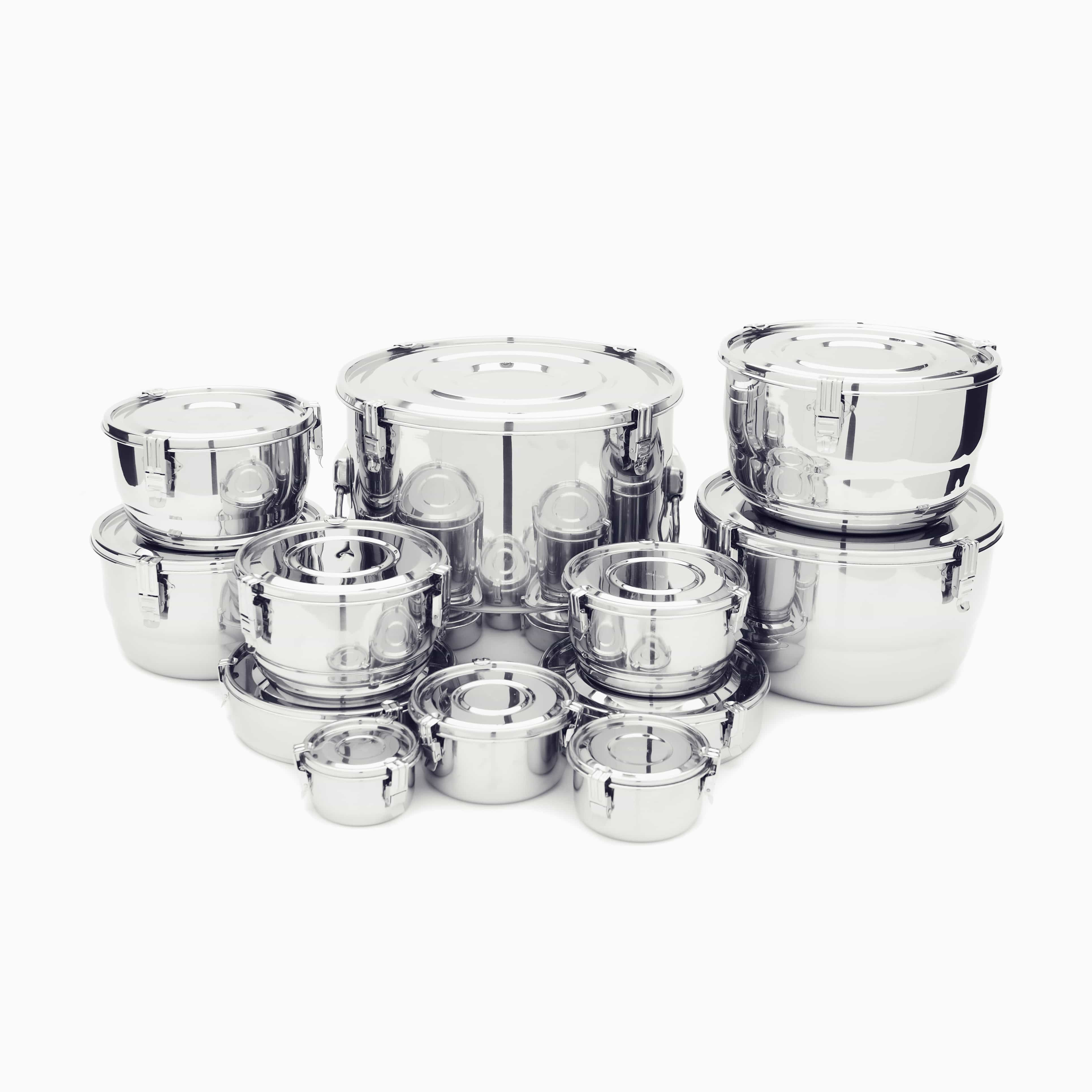 Airtight Stainless Steel Cabinet ~ Airtight watertight stainless steel food storage