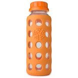 Lifefactory-Glass-Beverage-Bottle-With-Silicone-Sleeve-orange