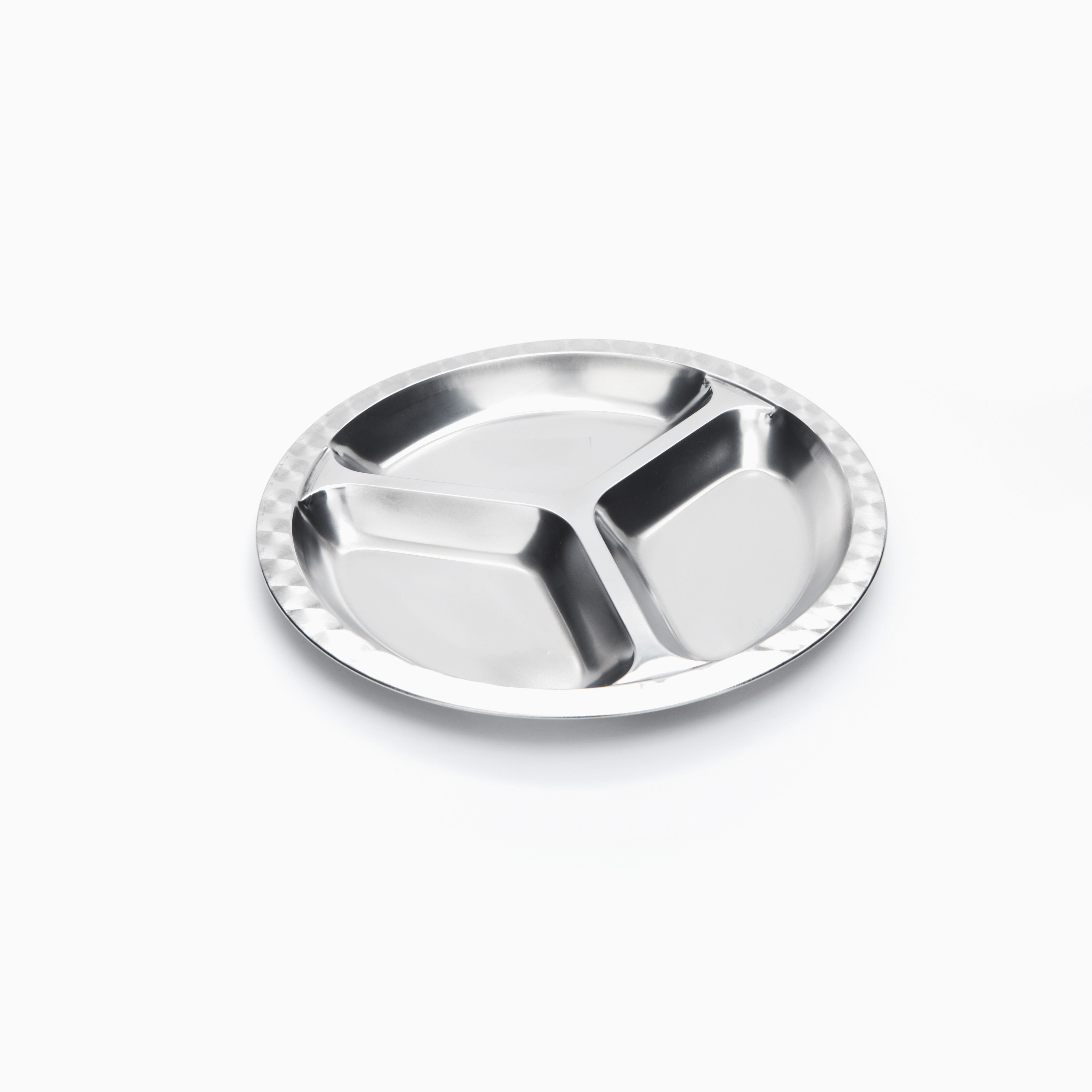 Partitioned dinner plates noplastic