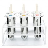 Stainless Steel Popsicle / Ice Pop Molds