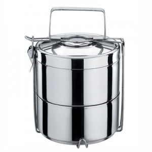 Layered Stainless Steel Food Container / Tiffin