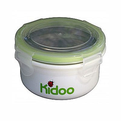 Round leak proof food storage container