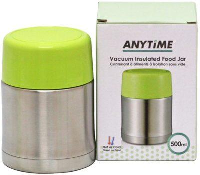 vacuum insulated stainless steel foodjar